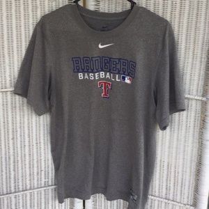 AUTHENTIC NIKE RANGERS PERFORMANCE APPAREL SHIRT!